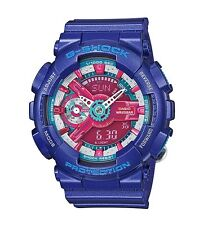 Casio G-Shock * GMAS110HC-2A S Series Violet & Red Watch for Women COD PayPal