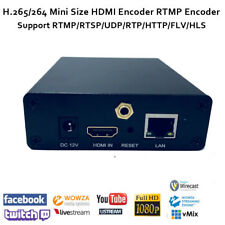 H.265/H.264 Portable HDMI Encoder support http rtsp RTMP udp for Live Streaming