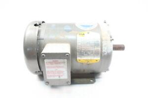 Baldor M3554T Motor 145t 3ph 1-1/2hp 1725rpm 208-230/460v-ac