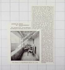 1932 L'Inauguration du Paquebot Georges-Philippar à Marseille