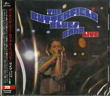 BUTTERFIELD BLUES BAND-LIVE-IMPORT 2 CD WITH JAPAN OBI F69