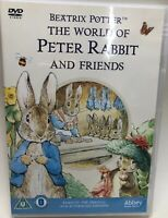 BEATRIX POTTER The World Of Peter Rabbit & Friends - DVD Good Condition Used
