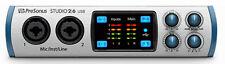 New PreOrder Presonus Studio 2 6 USB Audio Interface Xmax Recording 24bit 192K