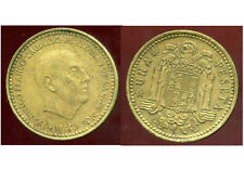ESPAGNE  1 pesetas 1966  ( 69 )