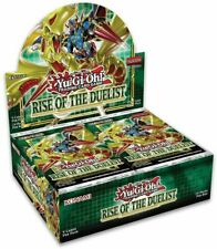 Yu-Gi-Oh THE DUELIST Booster Box RISE OF Sellado barcos 8/7