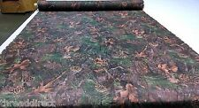 "MIXED PINE COTTON POLY TWILL CAMO FABRIC 60""W CAMOUFLAGE WATER REPELLENT DWR"