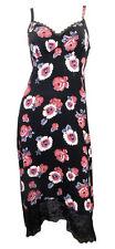 Viscose Empire line Floral Plus Size Dresses for Women