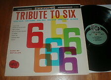 "RAY ALLEN ""Tribute To Six"" LP Buddy Holly Big Bopper Ritchie Valens NM-"