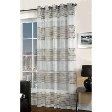 Rideaux et cantonnières voilages beige pour la maison, 100 cm - 150 cm