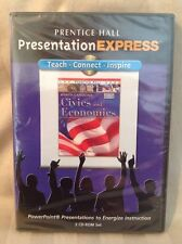 Prentice Hall Presentation Express - Civics & Economics - Cd-Rom Set! New! T25