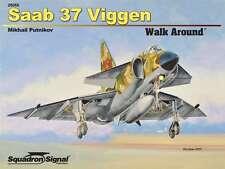 Saab 37 Viggen Walk Around, Swedish Fighter (Squadron Signal 25055)