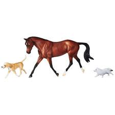 BREYER Cavallo Giocattolo Modellino 951-1:12 MAHOGANY Bay Purosangue Cavallo-Nuovo 2019