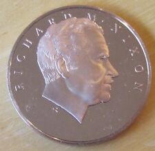 U.S. President Richard M. Nixon Re-elect The President (1972) MEDAL, Bronze