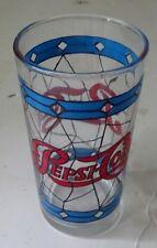 Vintage Pepsi-Cola Drinking Glass
