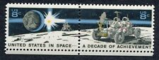 USA IN SPACE 2 setenant US stamps SCOTT 1435b Excellent Condition MNH/OG (1-A2)