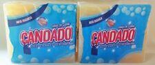 10 JABON DE CUABA CANDADO SOAP LAVA ROPA QUITA EL SUCIO Y RINDE MAS 2 New Packs