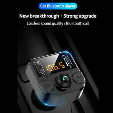 USB Bluetooth FM Transmitter Hands Free MP3 Player Radio Adapter Car Kit Charger
