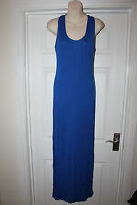 Ladies Blue Long Stretchy Dress Size S/M by Miss TKN Versatile Outfit