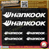 6 Stickers Autocollant hankook sponsor échappement lot planche sticker decal