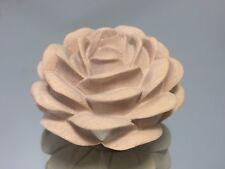 Handcrafted, wooden, Rose keepsake/ Urn