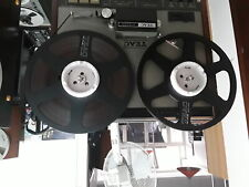 """More details for marble colour 10.5"""" nab hub adapters pioneer teac tascam akai pp-220a 1 pair"""
