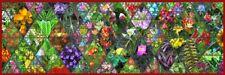 'Botanica quadro - Stampa d''arte su tela telaio in legno'