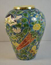 Antique Fischer Budapest Art Pottery Vase