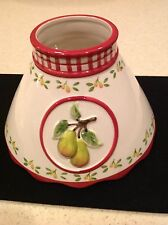 Valerie Parr Hill Candle Shade Pears New