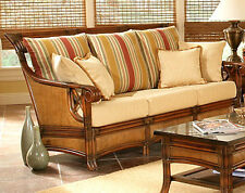 Pacifica Indoor Rattan And Wicker Sofa Model 4303 From South Sea Rattan