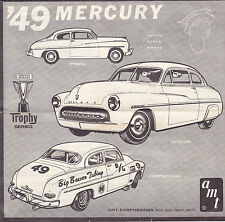 1949 Mercury AMT 1/25th scale model  6 page assembly  brochure
