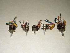 YAESU FT-101 B/E/EE/EX  SWITCHES AND POTENTIOMETERS ALL 5 FOR  ONLY $22.50