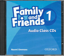 Oxford FAMILY AND FRIENDS 1 Class Audio CD's | Naomi Simmons @NEW & SEALED@