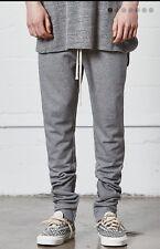 Fear Of God FOG Essentials Drawstring Sweatpants Pants Grey Gray Medium