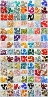 Genuine Swarovski 5000 Round Beads 100+ Colours & Many Sizes * A-J *