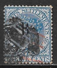 British PO in Siam/Bangkok stamps 1882 SG 8  CANC  VF