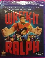 DISNEY WRECK IT RALPH(BLU-RAY+DVD) COLLECTORS EDITION 2DISC COMBO BRAND NEW