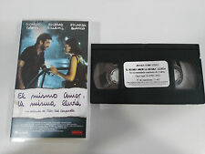 EL MISMO AMOR LA MISMA LLUVIA RICARDO DARIN VHS TAPE COLECCIONISTA CASTELLANO