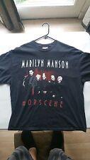 Marilyn Manson T shirt Vintage Mobscene Rock Tour Concert Band Size XL MOSHPIT