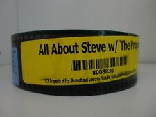 All About Steve (2009) 35 mm Movie Trailer  collectible SCOPE 2min 30sec