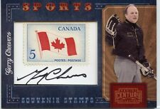 2010 PANINI CENTURY SPORTS GERRY CHEEVERS STAMP AUTOGRAPH # 071/100