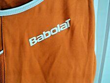 Babolat Club Women Performance Tennis Tank Top Orange Sz Md NWT