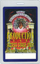 Ozzy Osbourne Alice Cooper 1995 Monsters of Rock Laminated Backstage Pass