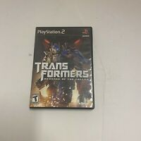 Transformers: Revenge of the Fallen (Sony PlayStation 2, 2009) PS2 Complete CIB