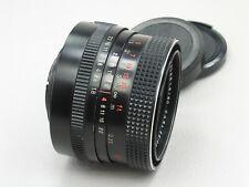 Carl Zeiss Jena Pancolar Lens 50mm f/1.8 M42 Red MC 186*