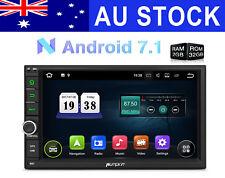 Android 7.1 2DIN Car Stereo GPS Bluetooth RAM:2GB Navigation HeadUnit 1080P DAB+