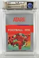 FOOTBALL REALSPORTS SOCCER Atari 2600 Brand New Factory Sealed WATA 9.4 A++ Seal