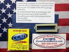CCMS Mercury//Mariner Racing Outboard Reed Valve 2.5 260-300hp 7 Petal PN 267DR