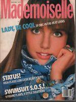 Mademoiselle Vintage Fashion Magazine June 1988 Roberto Chirko 092519AME