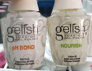 Gelish pH Bond + Nourish Cuticle Oil 15ml 0.5oz