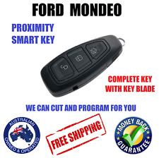 Complete PROXIMITY SMART KEY REMOTE FORD MONDEO 2007-2015 We can cut and Program
